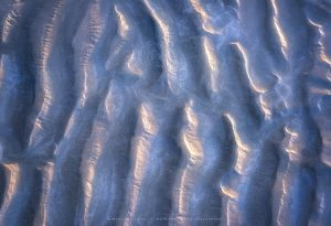 Sand patterns on a Sussex beach at sunrise
