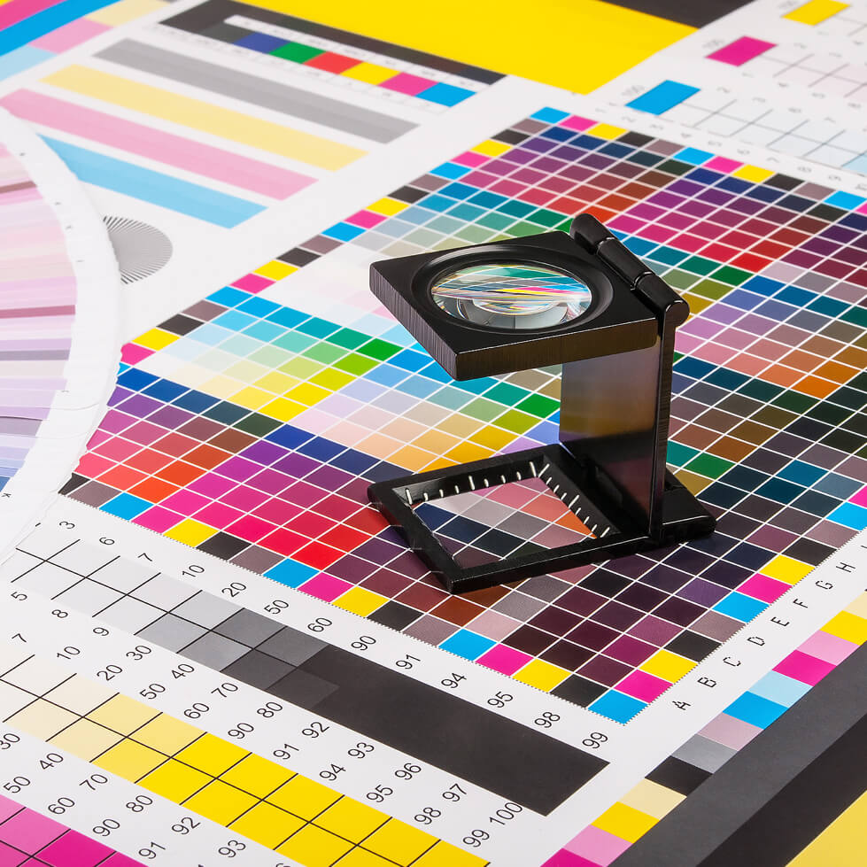 Printing Colour Wheels
