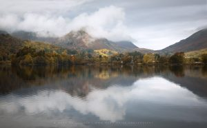 Autumn starts in the Lake District, Cumbria